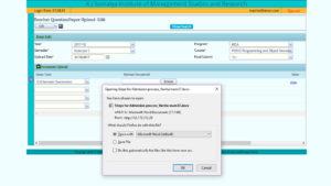 Exam Module - Question Paper Upload