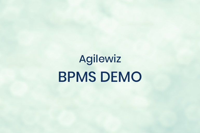 Innovation - Agilewiz BPMS Demo